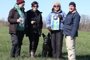 Judge Allison Platt, Donna Morgan Murray, Wild Laelia von Sontausen TDU, Judge Stephanie A. Crawford, Tracklayer Alice Moyer