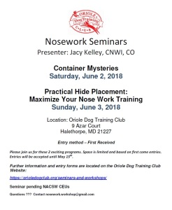 NW Seminar 6-2018 Flyer Image